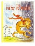 The New Yorker Cover - March 13, 1989 Regular Giclee Print by Lee Lorenz