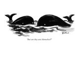 """But can they save themselves?"" - New Yorker Cartoon Premium Giclee Print by Eldon Dedini"