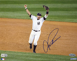 Alex Rodriguez 2009 WS Arms Raised Celebration Autographed Photo (Hand Signed Collectable) Photographie