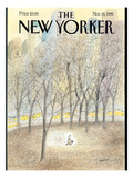 The New Yorker Cover - November 15, 1999 Premium Giclee Print by Jean-Jacques Sempé