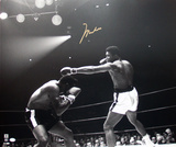 Muhammad Ali Autographed vs. Patterson Photograph Photographie