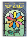 The New Yorker Cover - April 10, 1971 Premium Giclee Print by Charles E. Martin