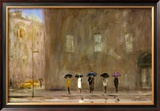 Waiting for a Cab on Park Avenue Print by Max Moran