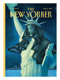 The New Yorker Cover - August 2, 1999 Premium Giclee Print by Ana Juan