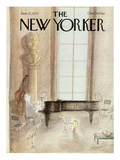 The New Yorker Cover - January 22, 1979 Premium Giclee Print by Jean-Jacques Sempé