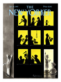 The New Yorker Cover - January 20, 1997 Premium Giclee Print by Ian Falconer