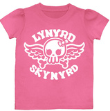 Toddler: Lynyrd Skynyrd - Biker Girl Patch Shirts