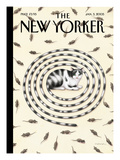 The New Yorker Cover - January 3, 2005 Premium Giclee Print by Gürbüz Dogan Eksioglu