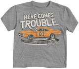 Toddler: The Dukes Of Hazzard - Here Comes Trouble T-Shirts