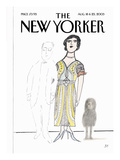 The New Yorker Cover - August 18, 2003 Premium Giclee Print by Saul Steinberg