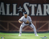 Alex Rodriguez Fielding w All Star in Background MLB Auth Autographed Photo (H& Signed Collectable) Photographie