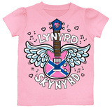 Toddler: Lynyrd Skynyrd - Girl Axe T-shirts