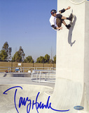 Tony Hawk Autographed Up The Wall Photo Photo