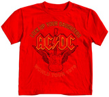 Toddler: AC/DC - Flying Axe Shirts