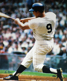 Ken Regan Autographed Roger Maris Swinging Vertical Color Photograph Photo