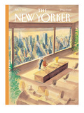 The New Yorker Cover - February 2, 1998 Premium Giclee Print by Jean-Jacques Sempé