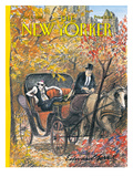 The New Yorker Cover - October 5, 1992 Premium Giclee Print by Edward Sorel