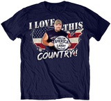 Larry The Cable Guy - I Love This Country Tshirt
