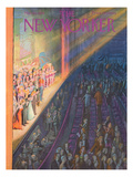 The New Yorker Cover - March 10, 1956 Regular Giclee Print by Arthur Getz