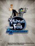Phineas and Ferb: Across the Second Dimension Julisteet