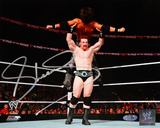 Sheamus Autographed Lifting A Man Photograph Photo