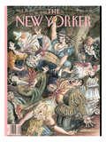 The New Yorker Cover - September 29, 1997 Premium Giclee Print by Edward Sorel