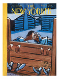 The New Yorker Cover - November 27, 1948 Premium Giclee Print by Peter Arno