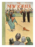 The New Yorker Cover - February 8, 1936 Premium Giclee Print by Helen E. Hokinson