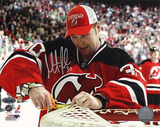 Martin Brodeur Cutting The Net Autographed Photo (Hand Signed Collectable) Photographie