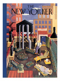 The New Yorker Cover - July 19, 1941 Regular Giclee Print by Ilonka Karasz