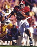 Glen Coffee Autographed Rush vs LSU Photograph Photo