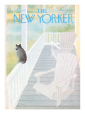 The New Yorker Cover - July 18, 1977 Premium Giclee Print by Charles E. Martin