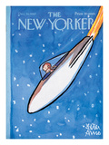 The New Yorker Cover - December 30, 1967 Premium Giclee Print by Peter Arno