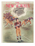 The New Yorker Cover - October 28, 1939 Premium Giclee Print by Constantin Alajalov