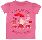 Toddler: Olivia - Accessorize Tshirts
