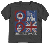 Toddler: The Who - Live In London Shirts