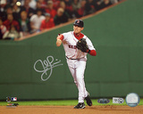 Jed Lowrie Autographed 2008 Home Fielding Photograph Photo
