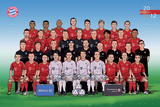 FC Bayern M&#252;nchen Poster Team 2011/2012 Comic Poster