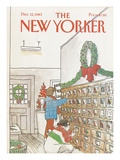 The New Yorker Cover - December 12, 1983 Regular Giclee Print by Arthur Getz