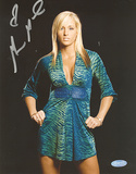 Michelle McCool Autographed WWE Pose Photograph Photographie