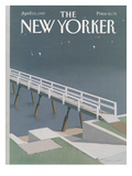 The New Yorker Cover - April 13, 1987 Regular Giclee Print by Gretchen Dow Simpson