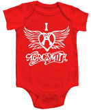 Infant: Aerosmith - I Heart Aerosmith T-Shirt