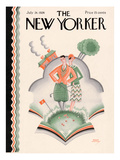 The New Yorker Cover - July 24, 1926 Regular Giclee Print by Ralph Jester