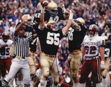 Mike Golic Autographed Notre Dame Photograph Photo