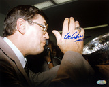 Al Arbour Drinking From Stanley Cup Autographed Photo (Hand Signed Collectable) Photographie