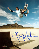 Tony Hawk Autographed Salt Flats Photograph Photo