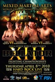 Bellator Fighting Championships Poster