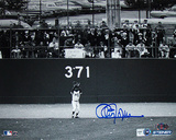 Cleon Jones Autographed Last Out Horizontal Photograph Fotografía