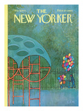 The New Yorker Cover - May 9, 1970 Regular Giclee Print by Charles E. Martin