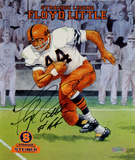 Floyd Little Syracuse Legend Poster Autographed Photo (Hand Signed Collectable) Fotografía